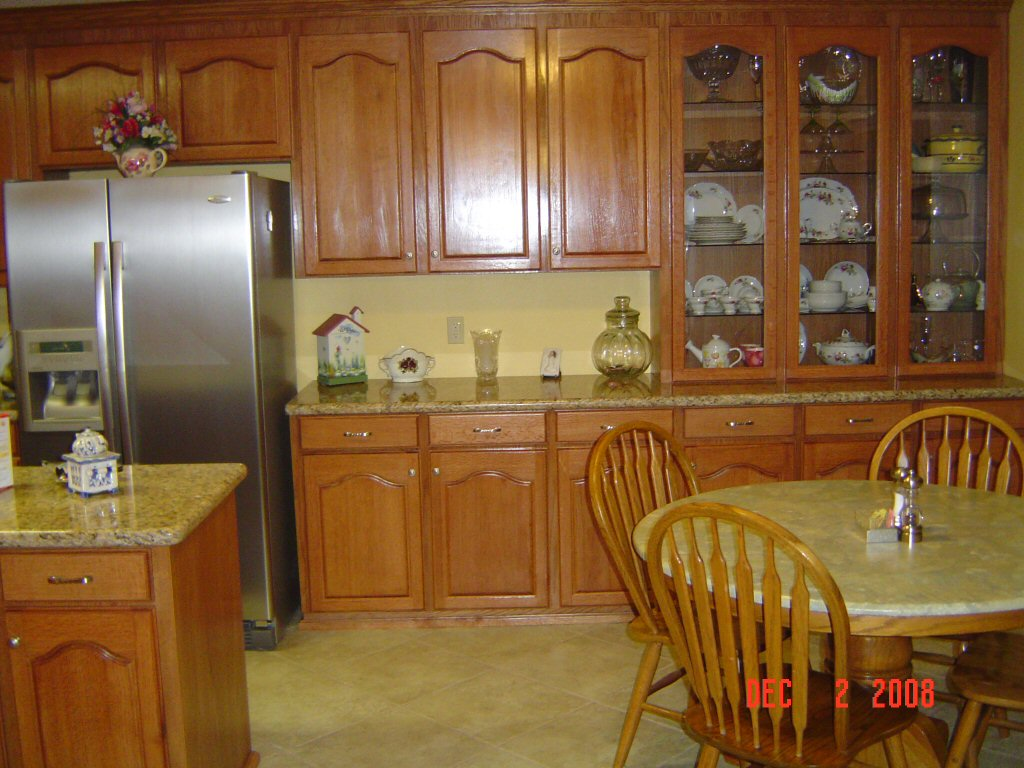 red oak kitchen cabinets phil starks oak kitchen cabinets 4595
